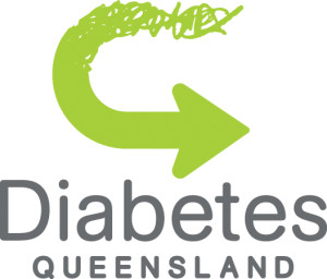Diabetes QLD Logo Portrait CMYK